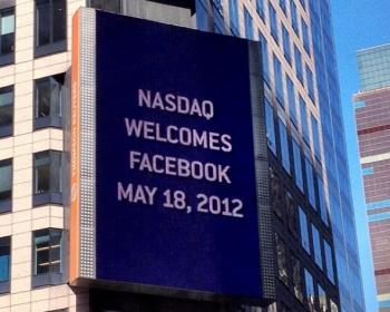 """""""NASDAQ welcomes Facebook May 18, 2012"""""""