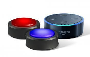 Die Echo Buttons lassen sich als Buzzer nutzen.