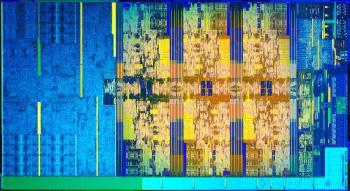 Intel Core i-8000 Die Shot (Coffee Lake)