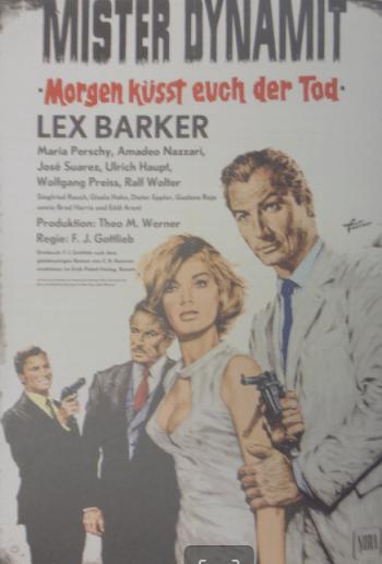 Lex Barker als BND-Agent Mr. Dynamit