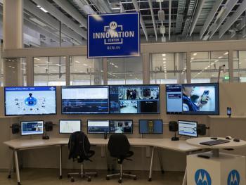 Im neuen Innovation Center von Motorola Solutions wird an neuen Techniken für Einsatzkräfte gearbeitet.