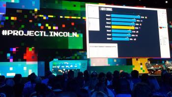 Lincoln verknüpft Daten mit Grafiken. Aus einer Zahlenreihe entsteht damit in Illustrator nach wenigen Klicks ein Balkendiagramm.