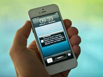 Katastrophenschutz via Handy