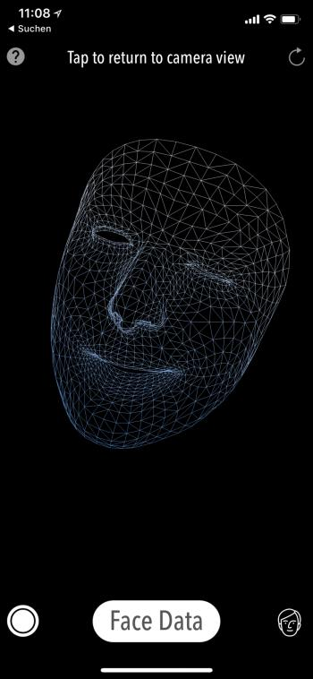 Face-Tracking iPhone X