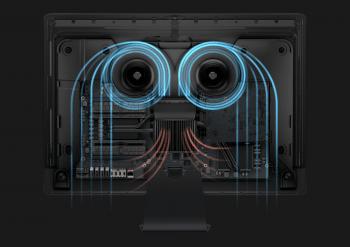 Ein neues System soll genug Luft ins Innere des iMac Pro bringen, um Xeon und GPU zu kühlen.