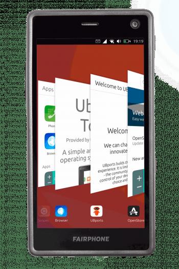 Fairphone 2 mit Ubuntu Touch