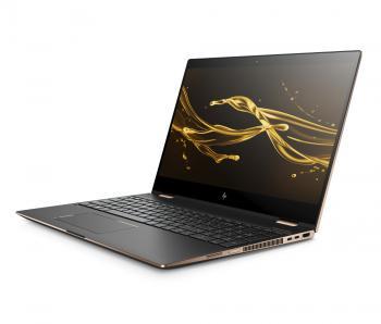Im HP Spectre x360 15 kommen Intels neue Vierkern-Prozessoren mit integrierter Radeon-GPU zum Einsatz.