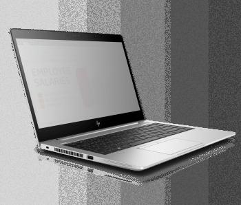 Verborgen: HPs Elitebook 840 mit Sure View.