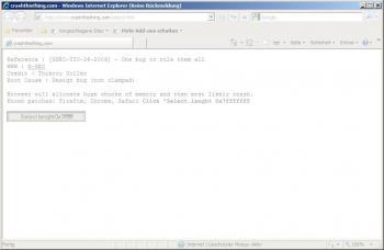 Screenshot IE8