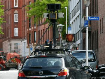 Kamerawagen von Google