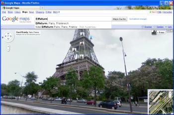 Google Street View: Eiffelturm