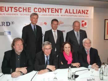"""Die Gründer der """"Deutschen Content Allianz"""""""