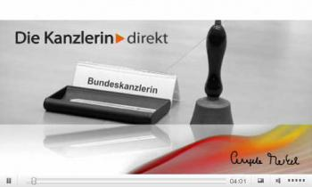 Angela Merkels Video-Podcast