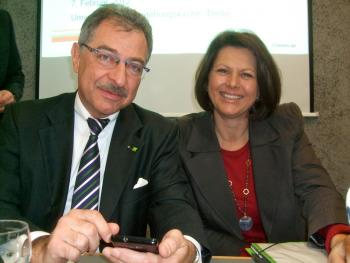 Verbraucherschutzministerin Aigner und Bitkom-Chef Kempf