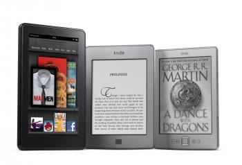 Die E-Book-Reader der Kindle-Reihe und das Tablet Kindle Fire sind weiterhin ein Verkaufsschlager für Amazon