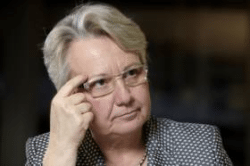Bundesbildungs- und Forschungsministerin Annette Schavan