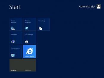 """Die Metro-Oberfläche (nunmehr offiziell """"Windows 8 UI"""" genannt) gibts auch für den Admin eines Windows Server 2012"""