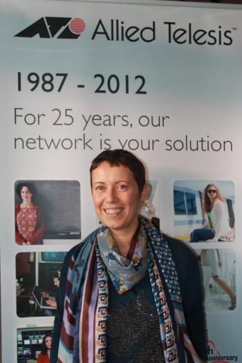 Antonella Santoro, Vizepräsidentin Marketing EMEA, Allied Telesis