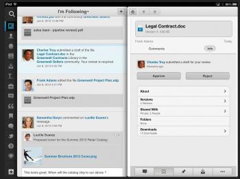 IBM Connections auf dem iPad