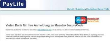 Maestro Securecode