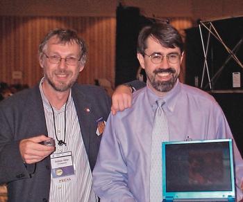 Dave Ditzel (rechts) mit Andreas Stiller