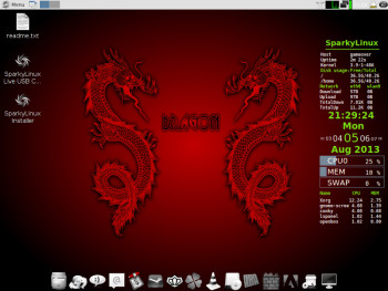Sparky Linux 3.0 GameOver