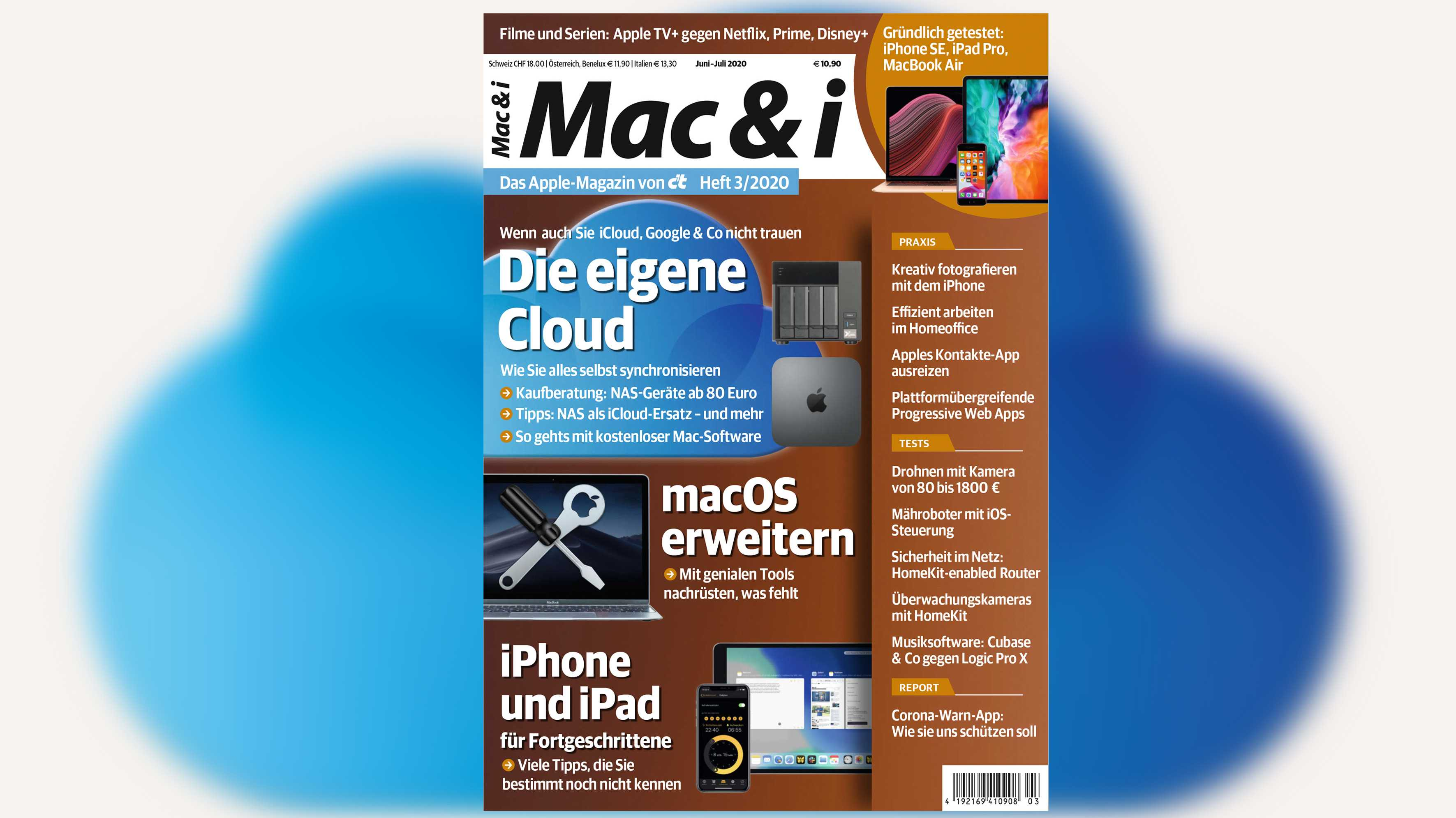 Mac & i Heft 3/2020 jetzt vorab im heise-Kiosk