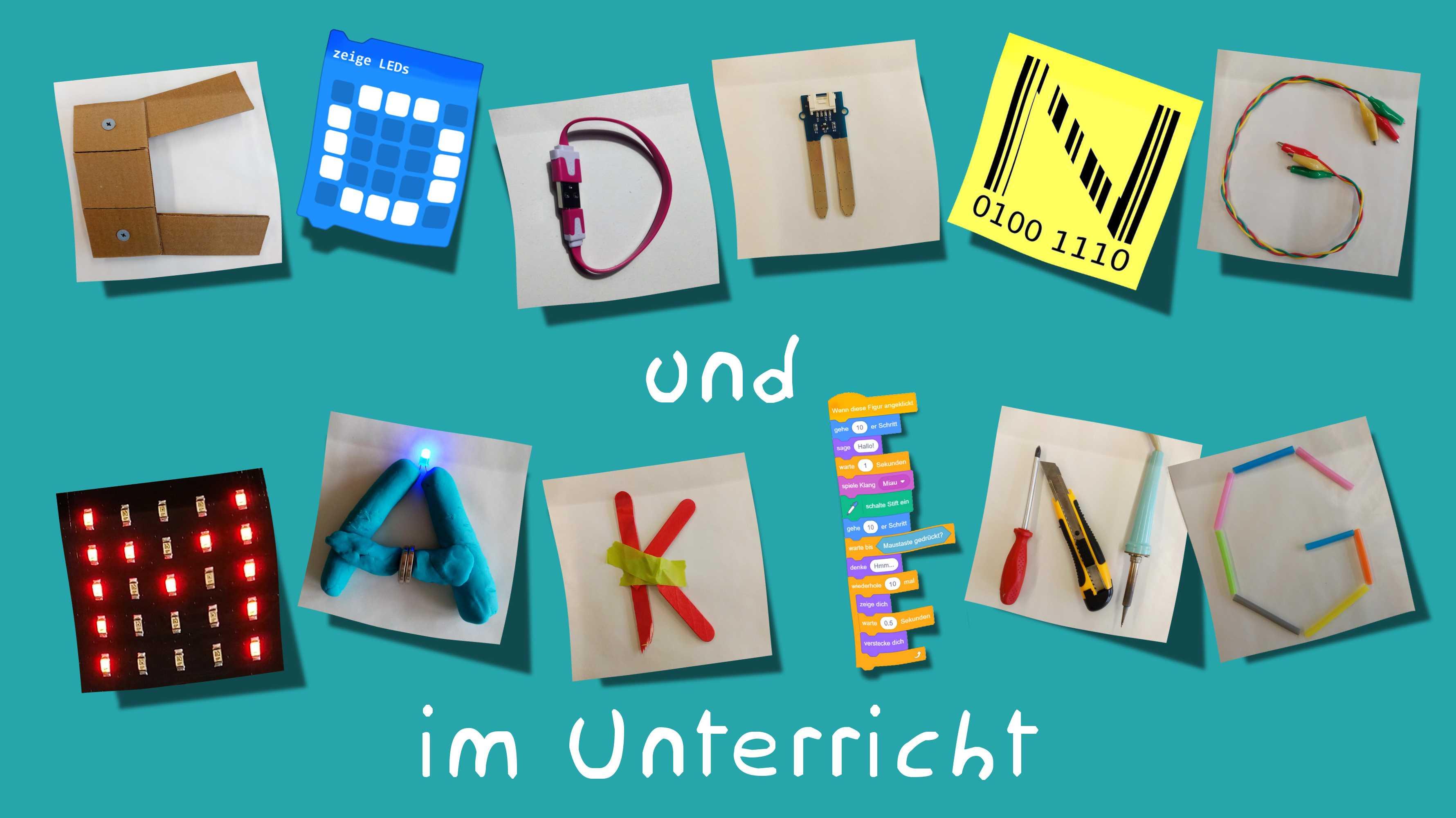 """Kostenloser Onlinekurs zu """"Coding und Making im Unterricht"""""""