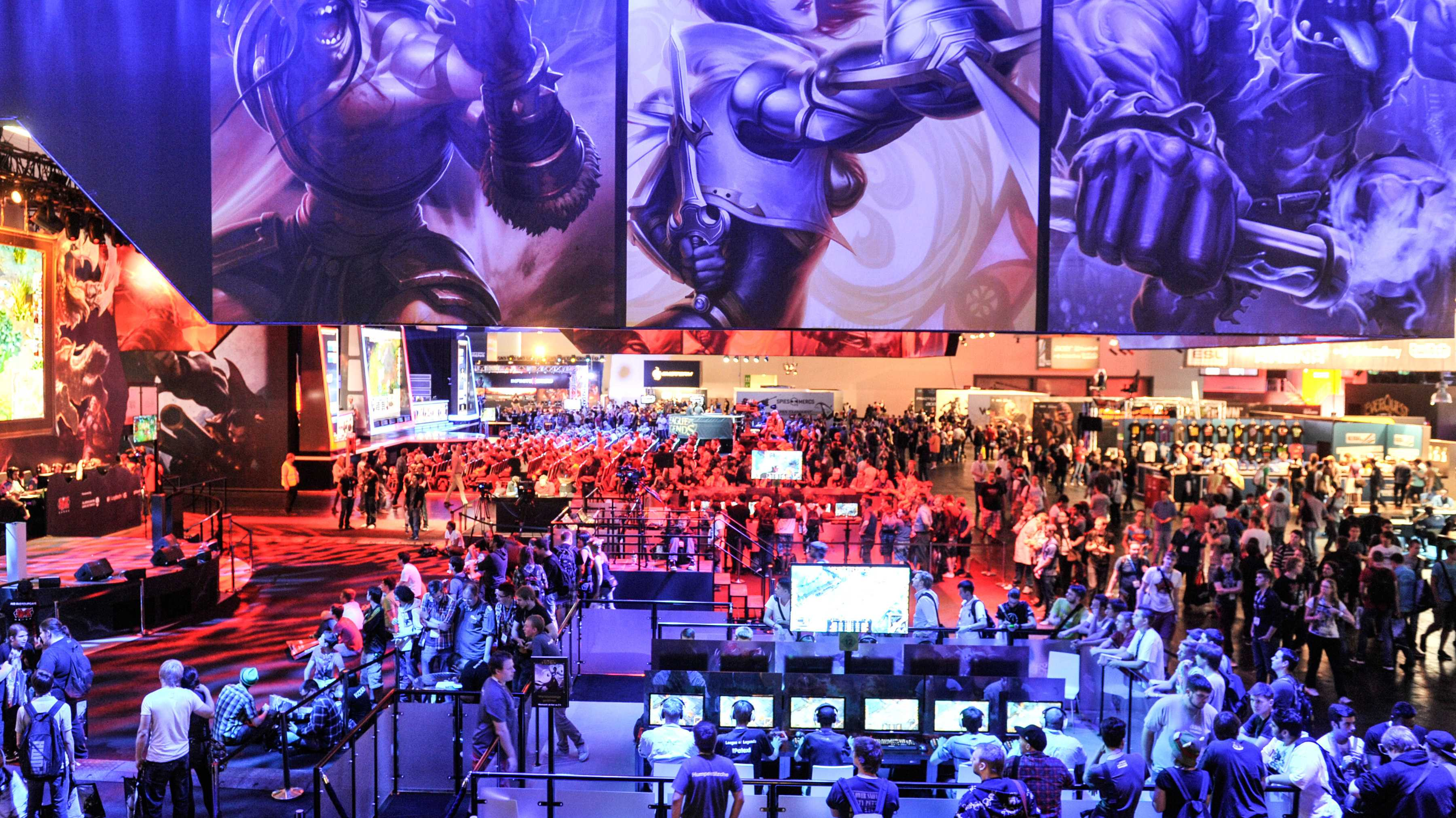 Impressionen von der GamesCOM: League of Legends