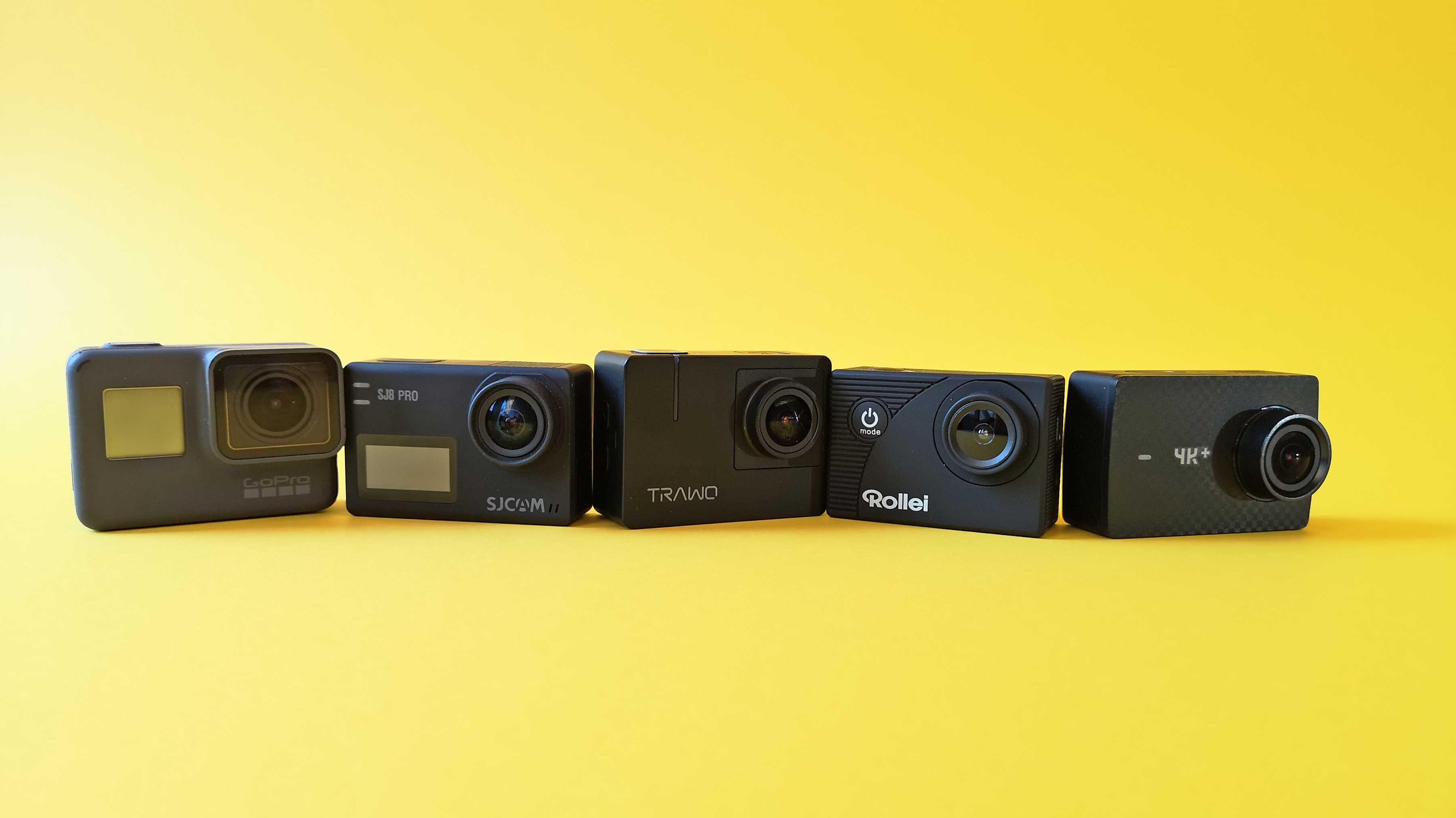Kaufberatung 4K-Actioncams bis 200 Euro