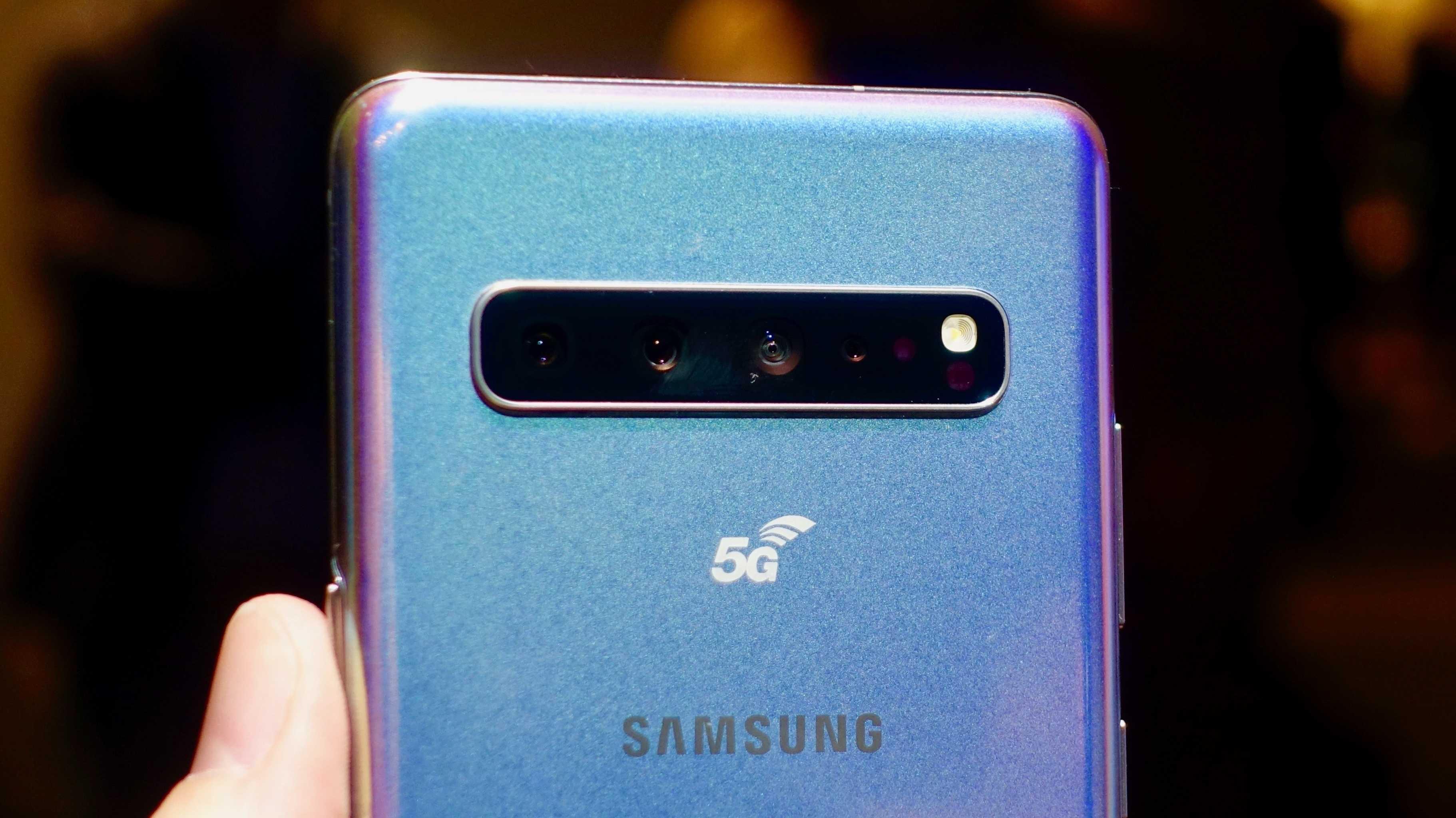 Galaxy S10 5G: Samsungs erstes 5G-Smartphone