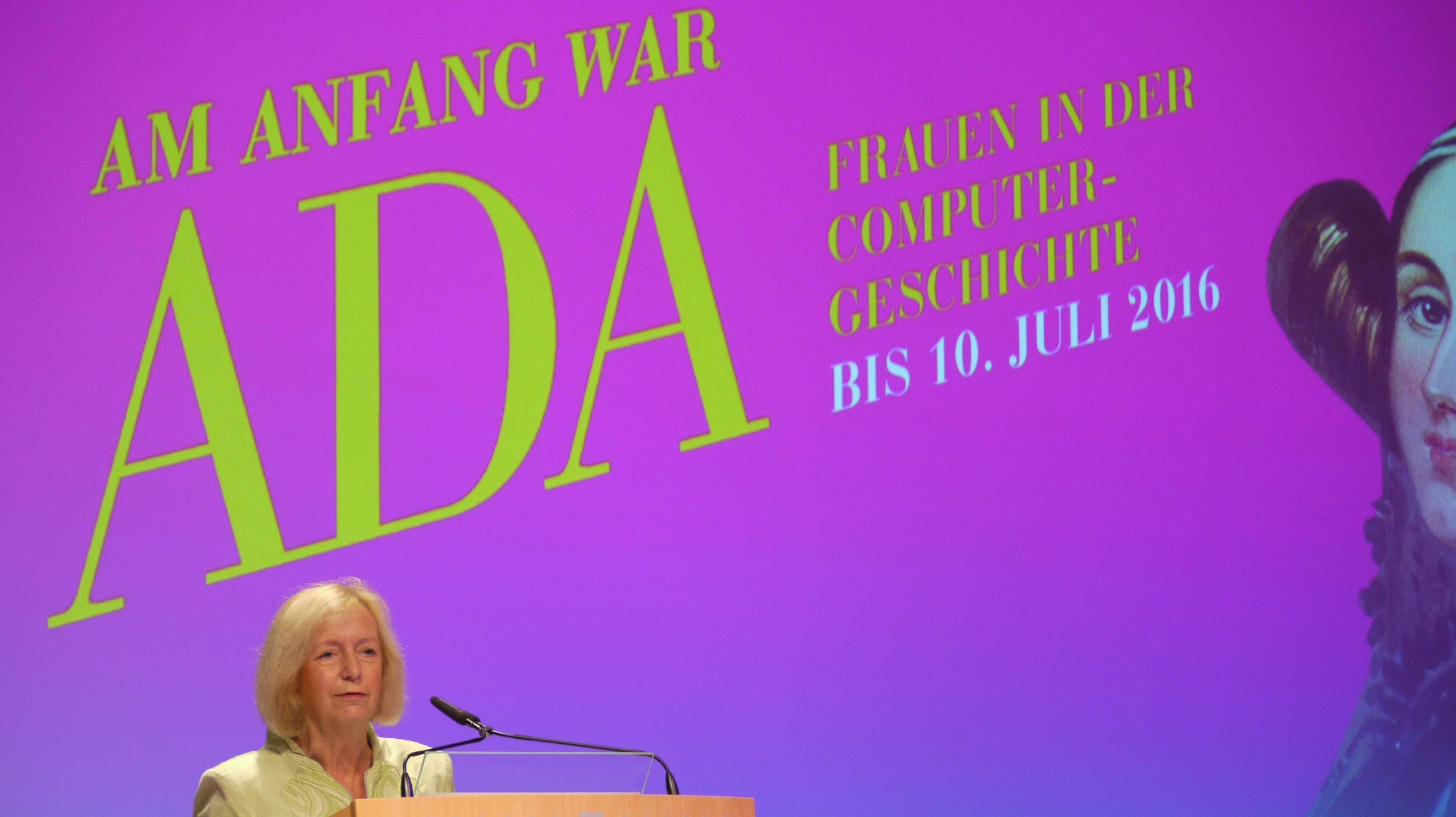 Johanna Wanka, Am Anfang war ADA