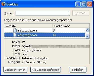 Google-Mail-Cookie