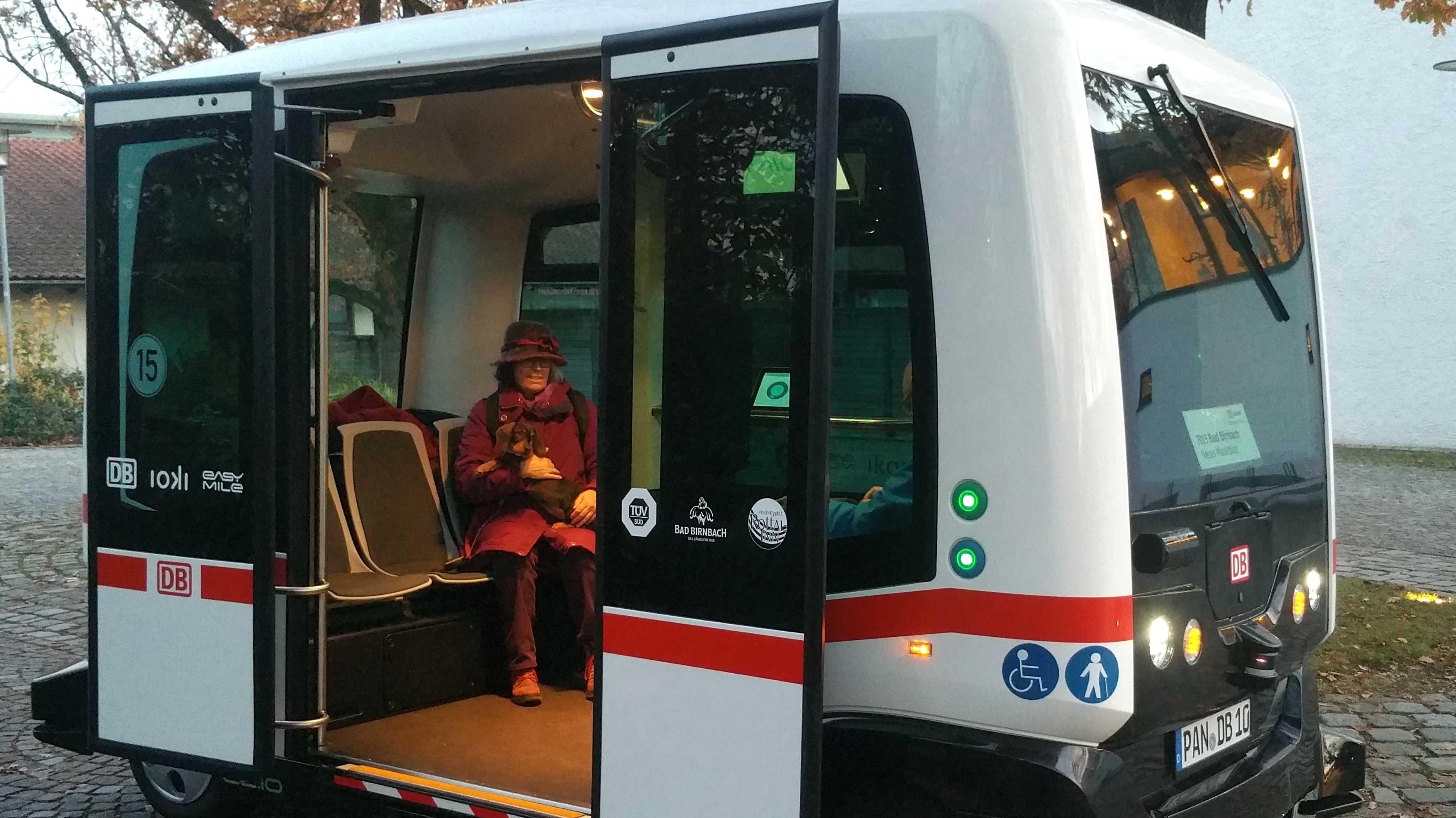 Strecke für autonomen Elektrobus in Bad Birnbach erweitert