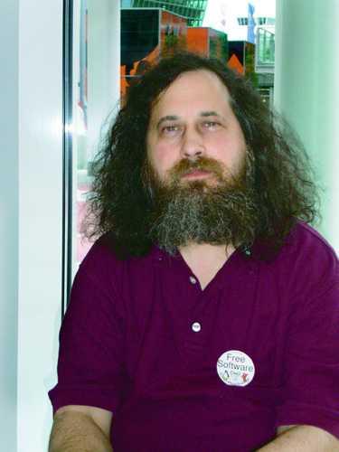 GNU-Gründer Richard Stallman
