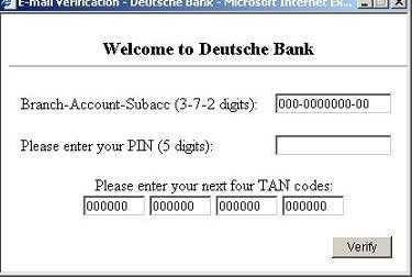 Phishing DB