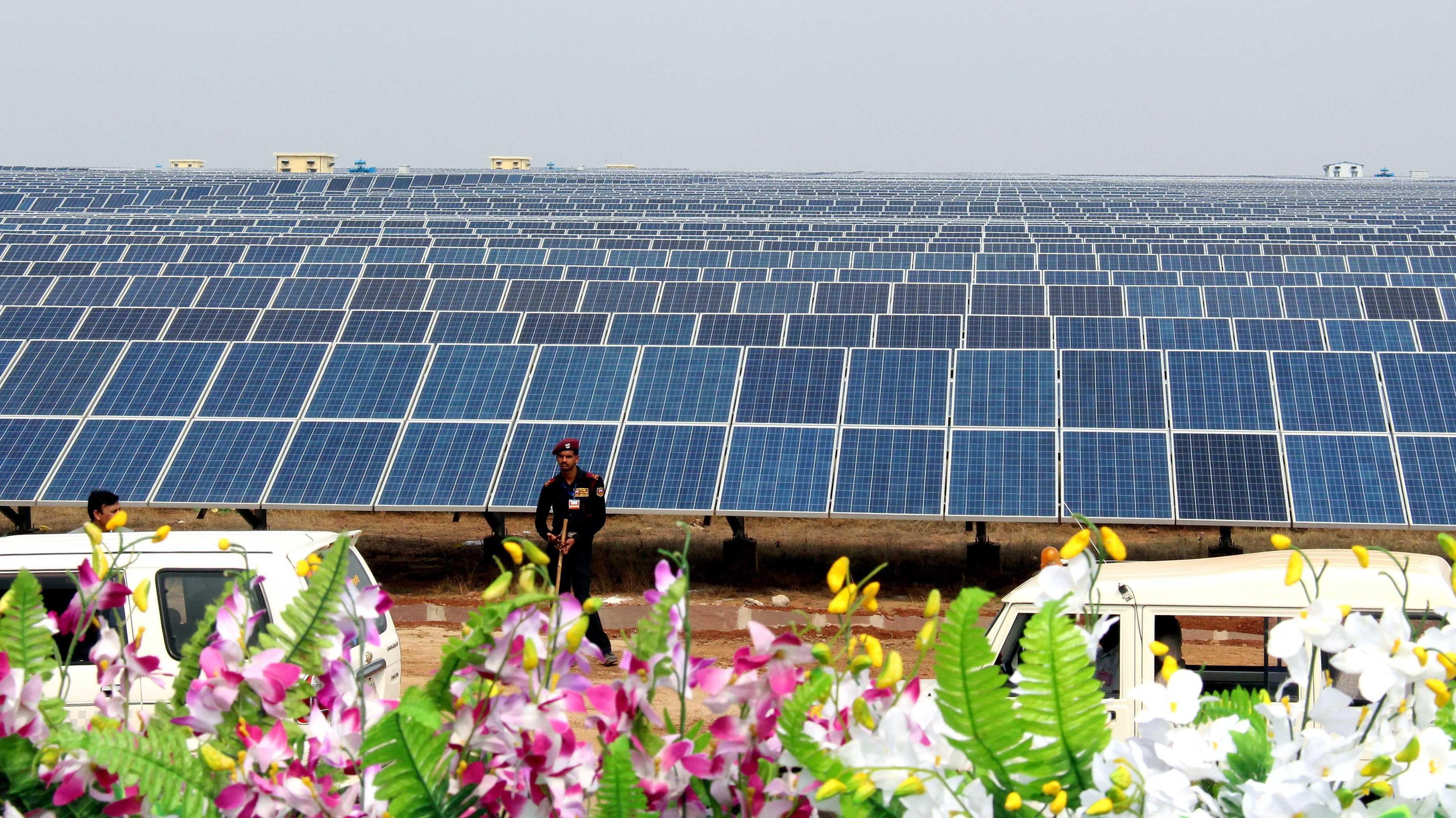 Kohleabhängiges Indien peilt sonnige Zukunft an