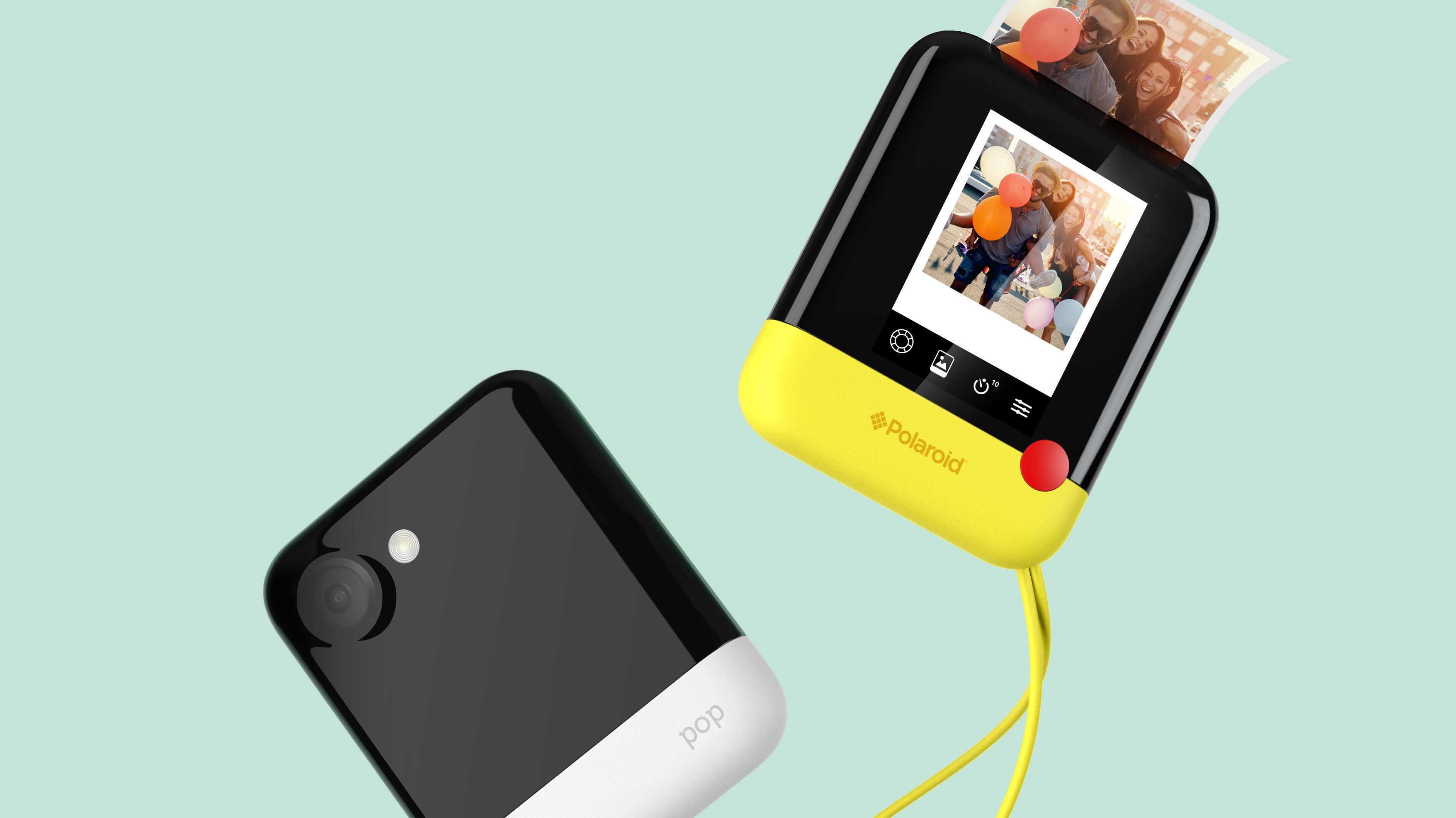 CES: Polaroid Pop Sofortbildkamera