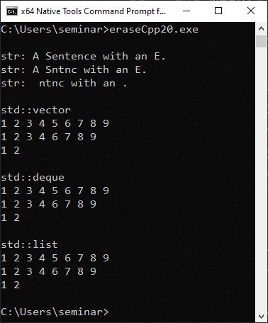 Neue praktische Funktionen für Container in C++20