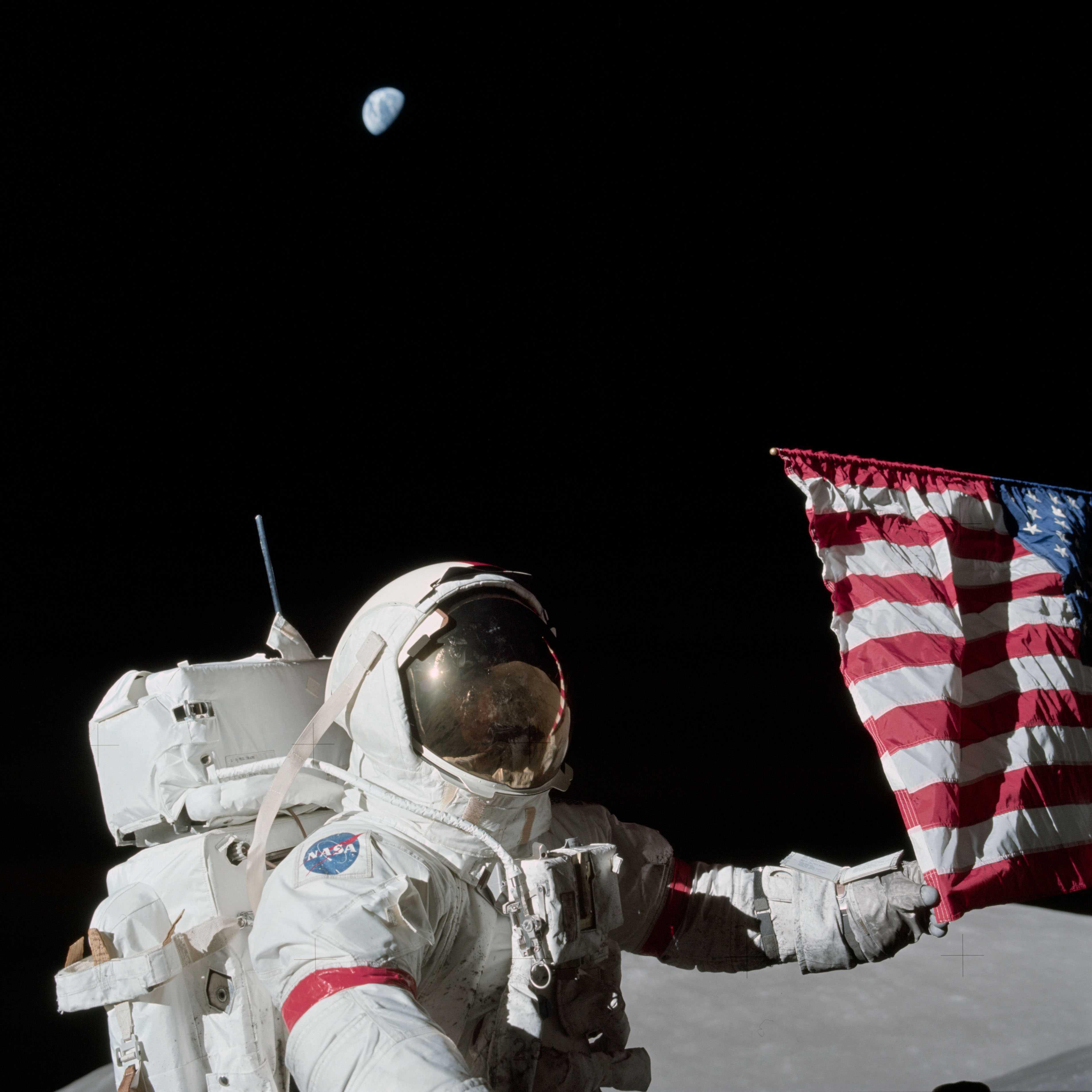 Die Mondlandung, ein Magnet für Verschwörungstheorien