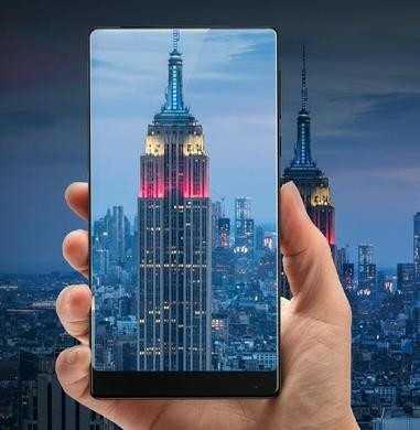 Xiaomi Mi Mix mit drei randlosen Kanten