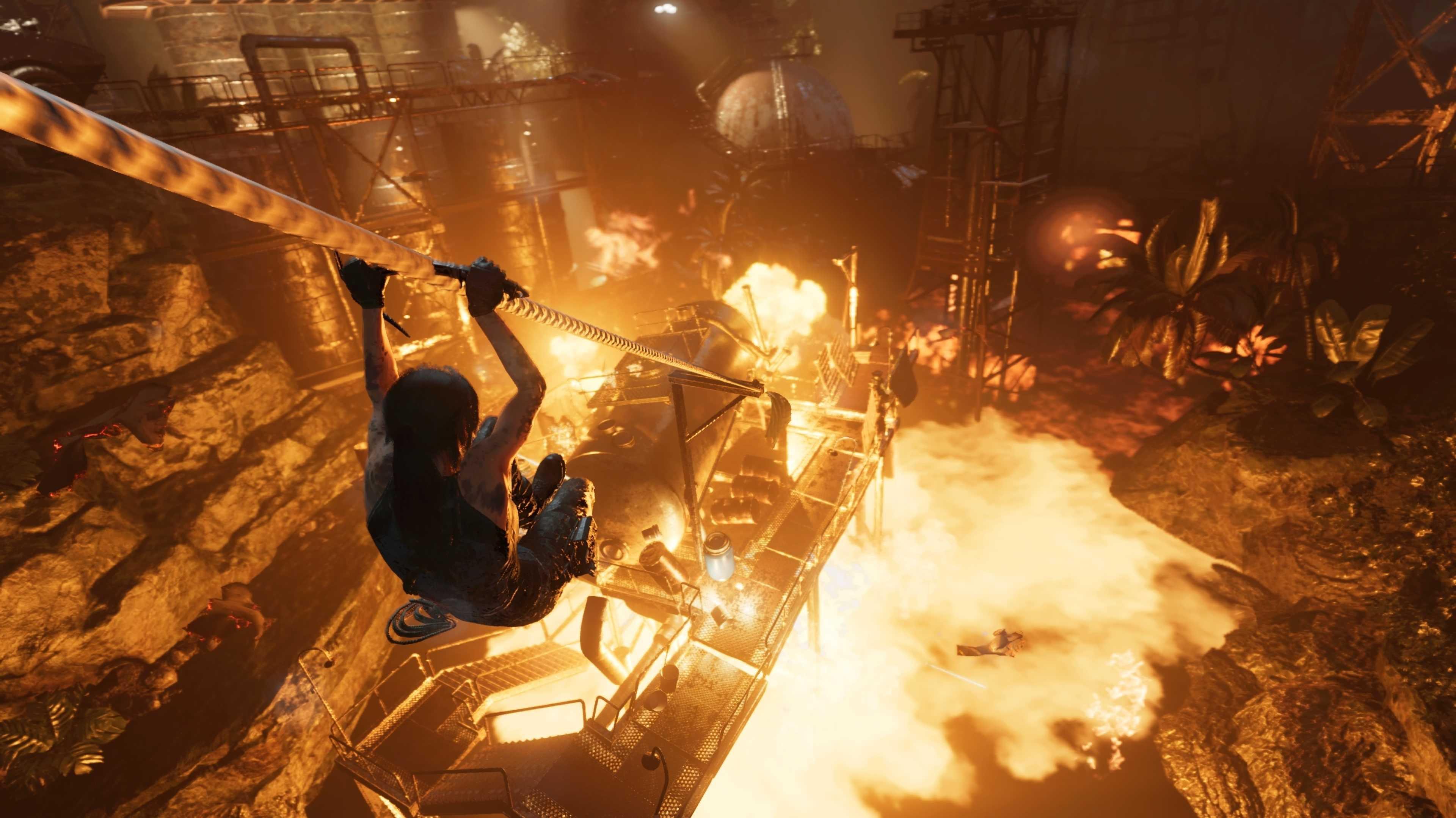 Shadow of the Tomb Raider angespielt: Irgendwo ist immer Weltuntergang