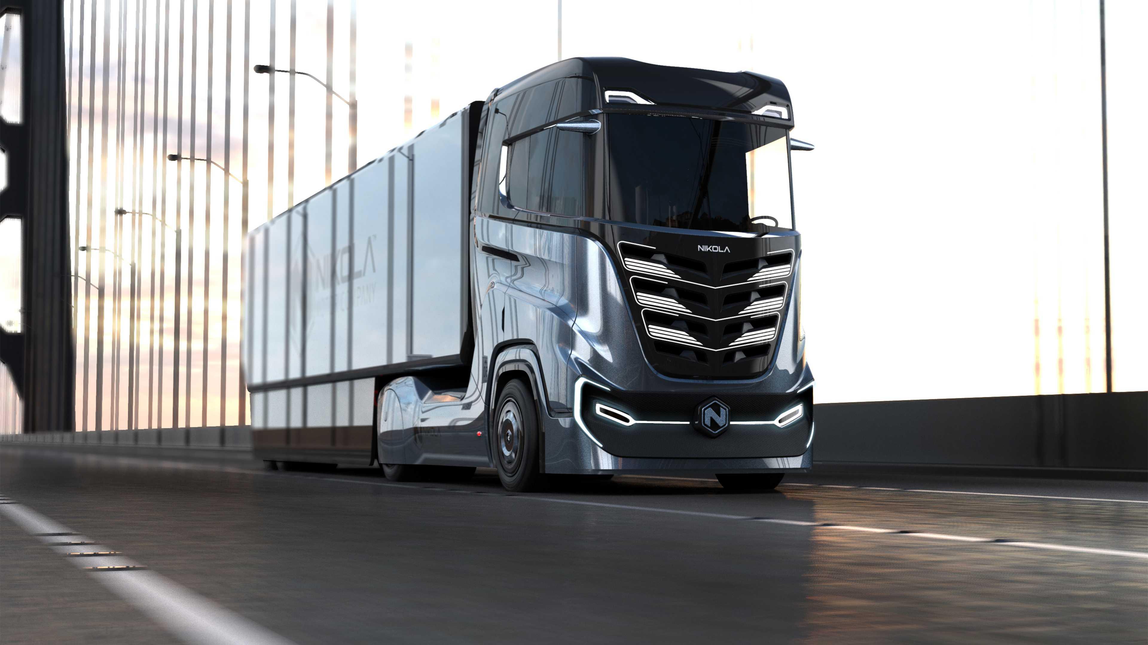 Brennstoffzellen-Lkw: Nikola entwickelt Truck für Europa