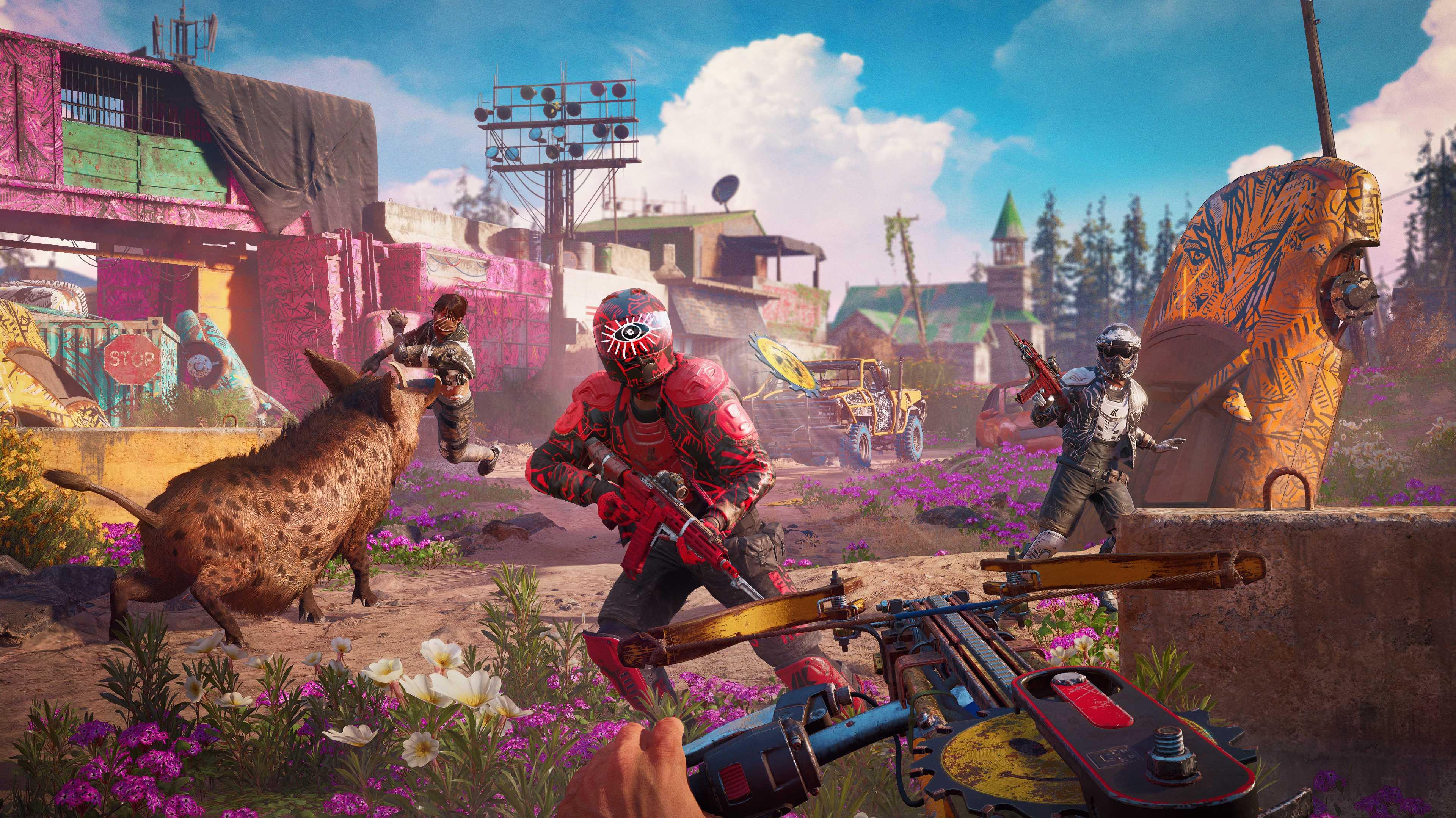 Far Cry New Dawn führt in die optimistische Postapokalypse
