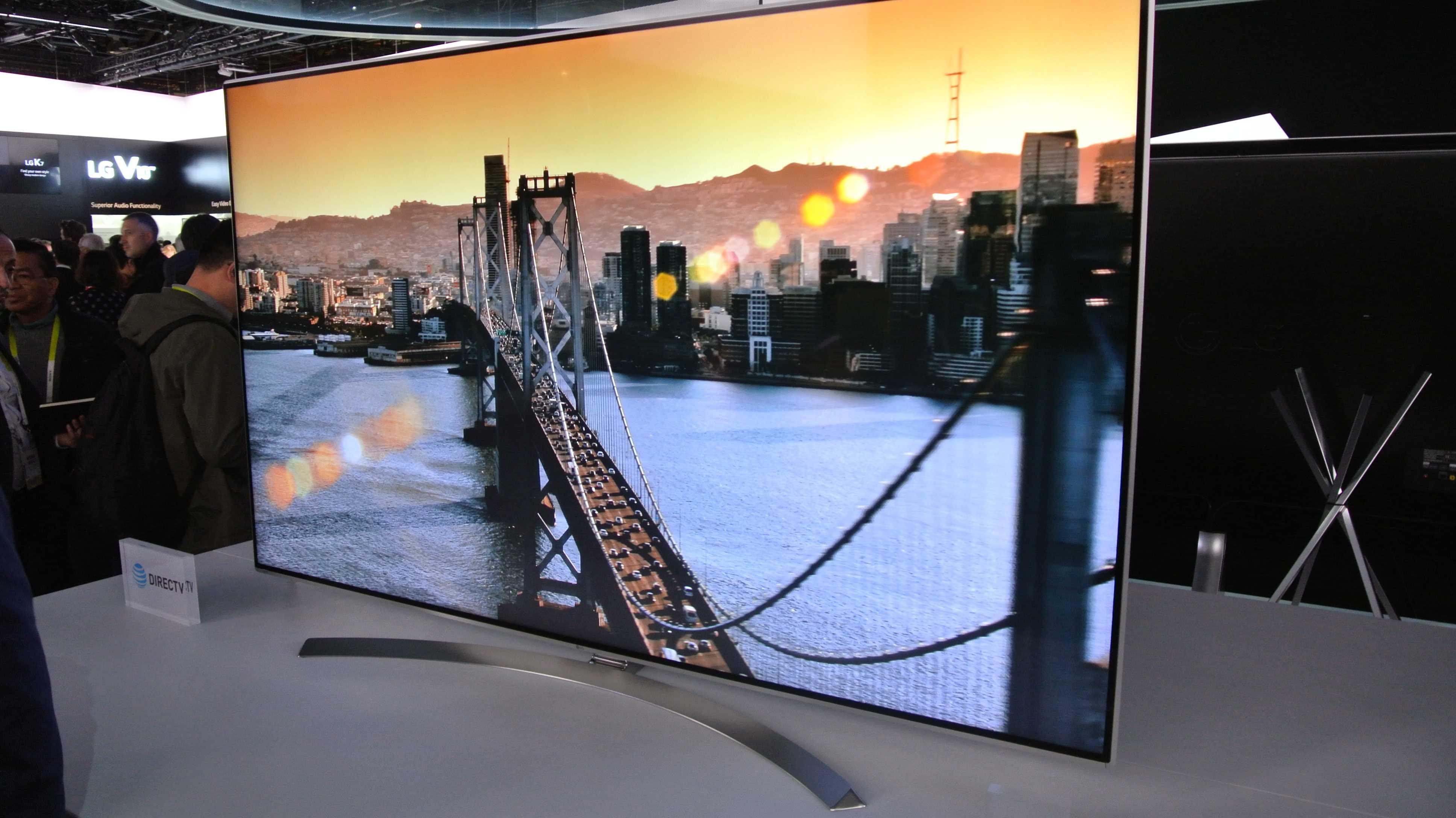CES 2016: 4K-LCDs mit HDR und großem Farbraum von LG