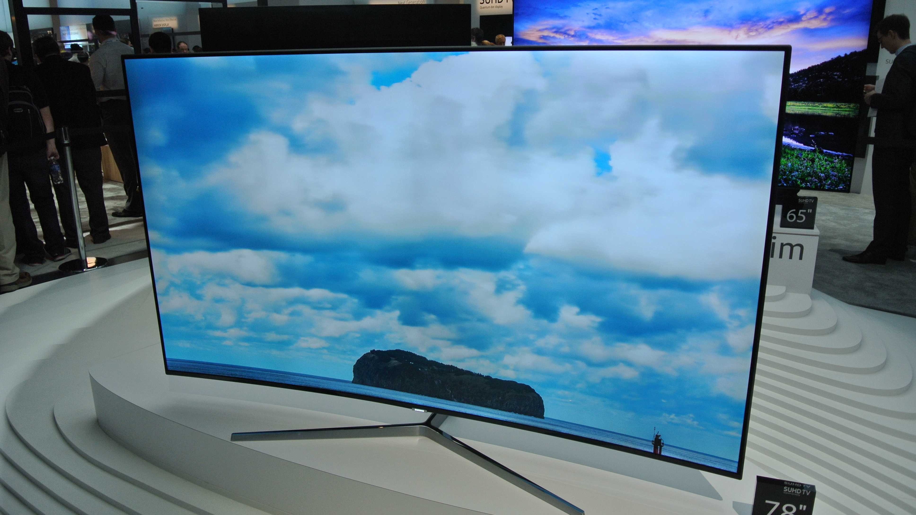 Samsungs SUHD-Fernseher mit HDR und Quantum Dots
