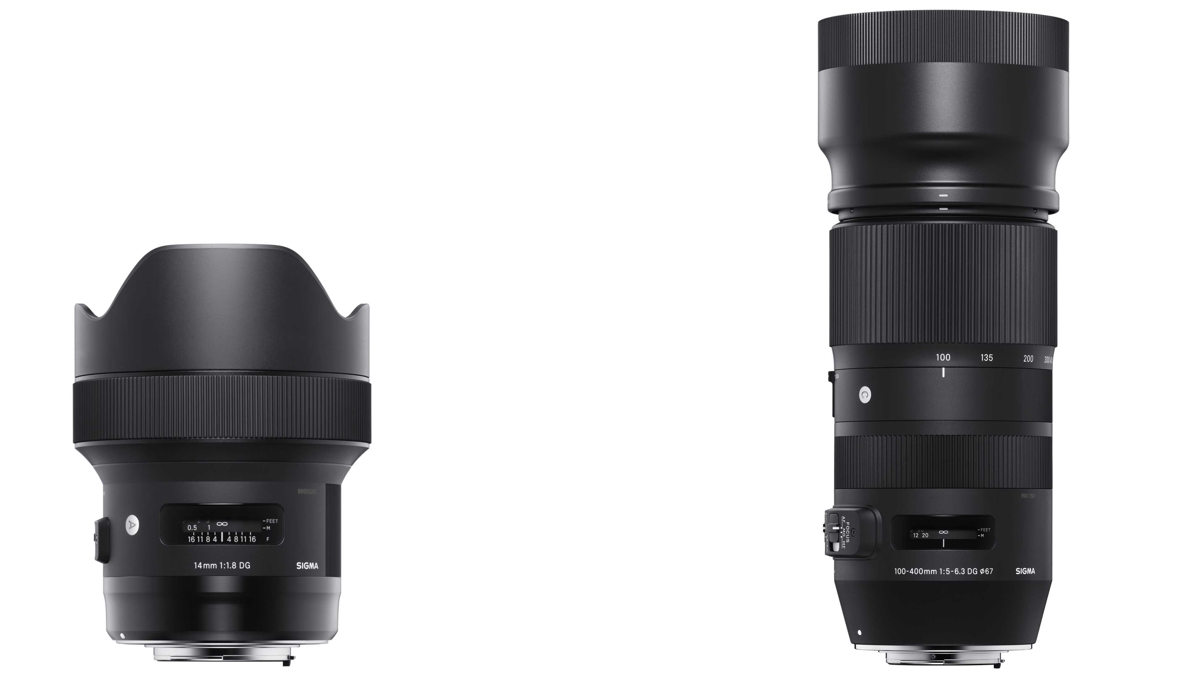 Von 14 bis 400 Millimeter: Sigma kündigt hochwertige Festbrennweiten und Zooms an