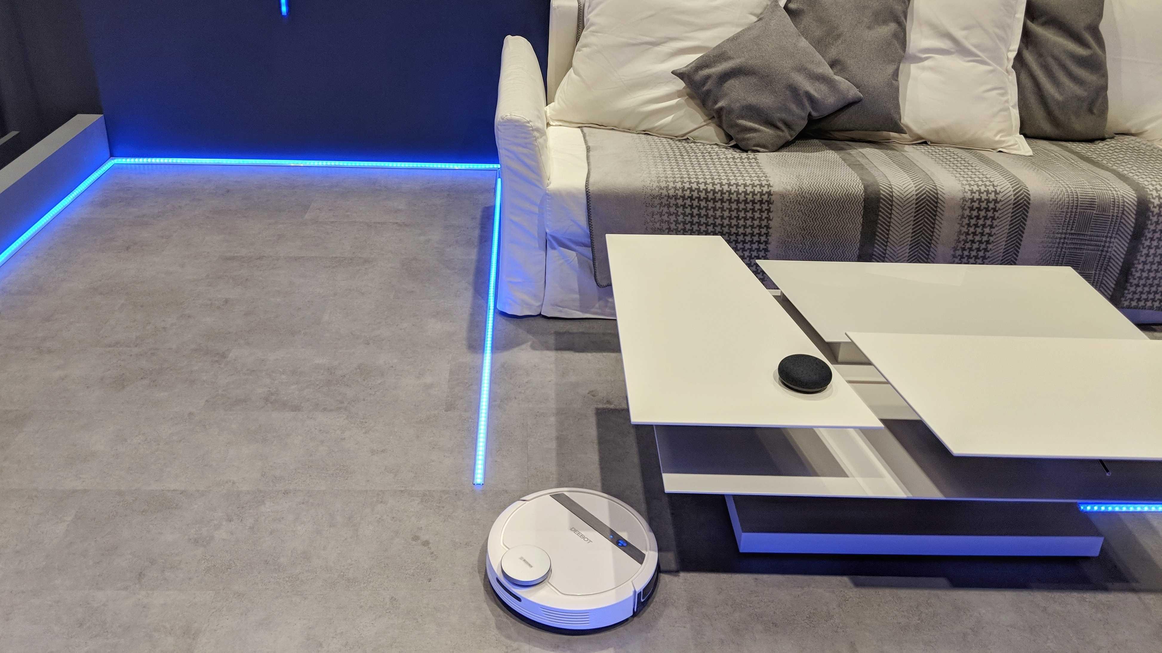 Neuer Saugroboter von Ecovacs frisst keine Kabel mehr