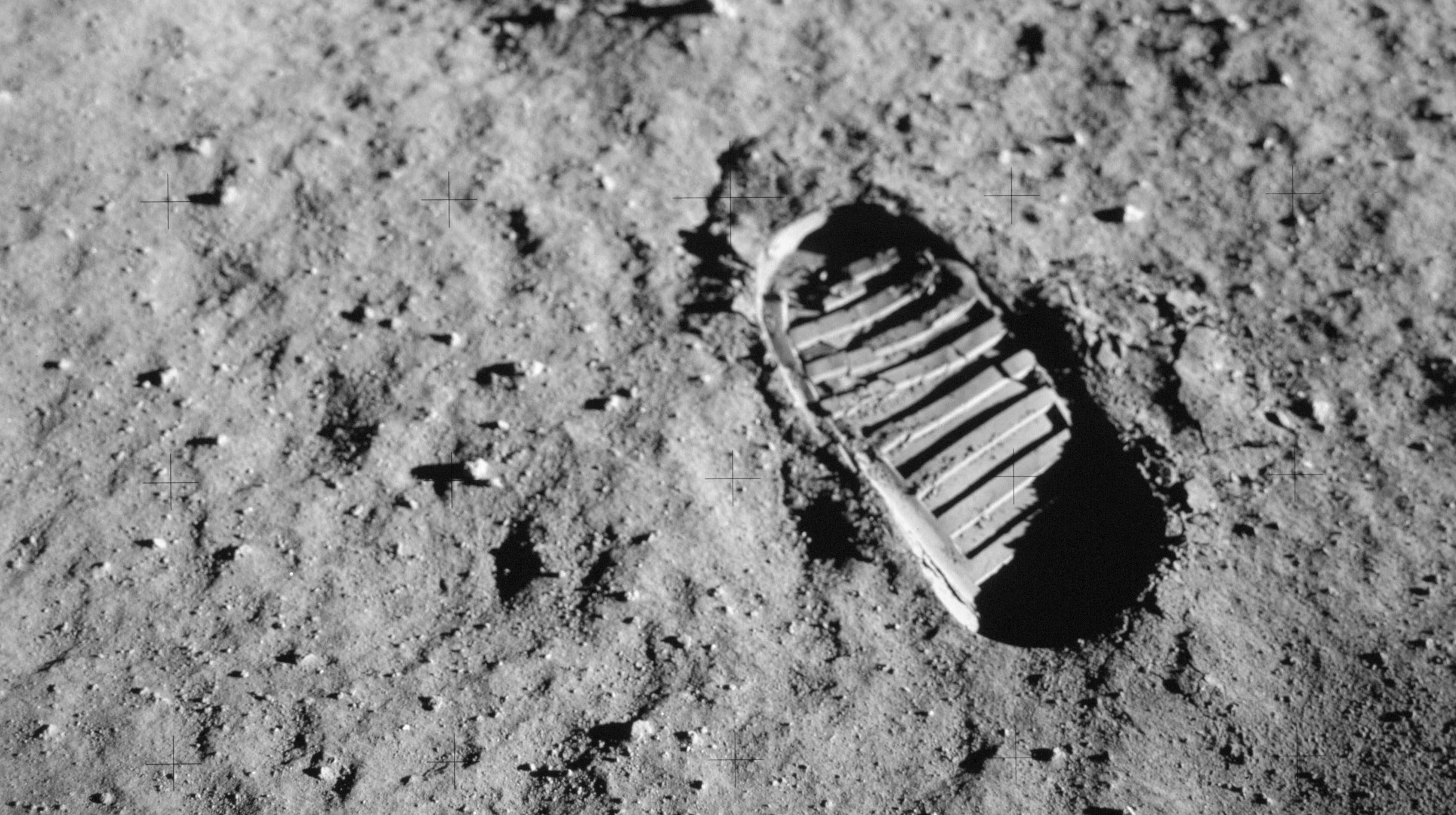 Fußabdruck auf dem Mond, Mission Apollo 11
