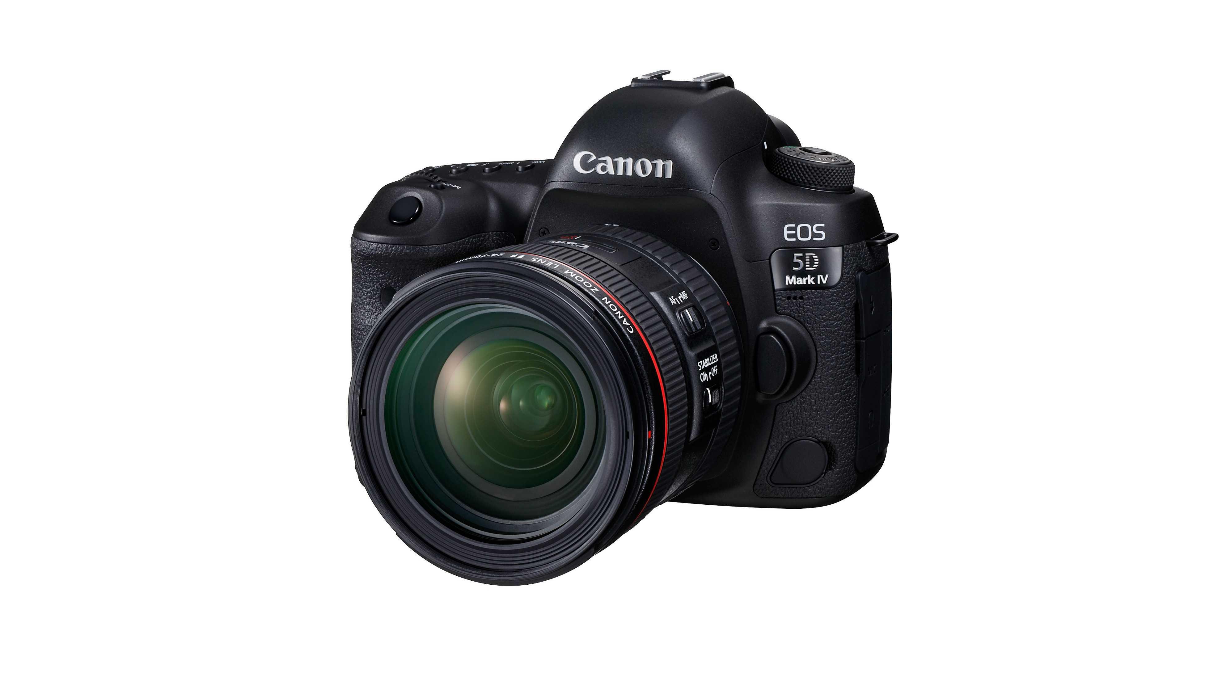 Upgrade für Canon EOS 5D Mark IV erweitert Dynamikumfang
